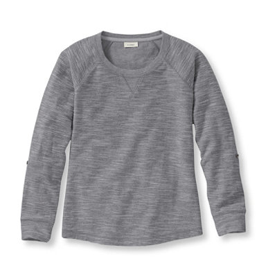 Textured French Terry Pullover