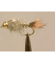 Tungsten Gold Ribbed Hare's Ear 2 Pack