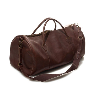 Signature Leather Duffle Bag