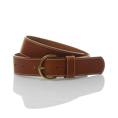 Women's Leather Jean Belt
