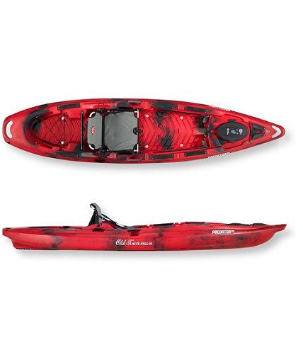 Old town predator mx sit on top fishing kayak l l bean for Predator fishing kayak