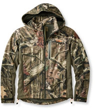Men's Bean's Big-Game WINDSTOPPER� Soft-Shell Jacket, Camouflage