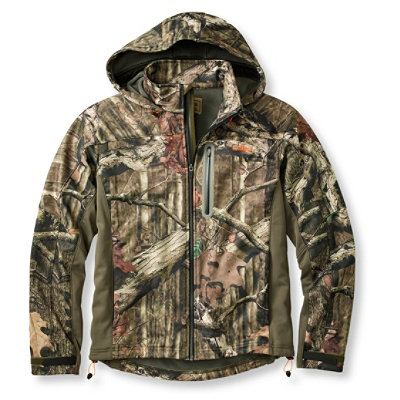 Men's Bean's Big-Game WINDSTOPPER Soft-Shell Jacket, Camouflage