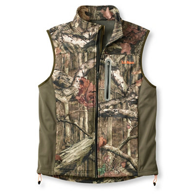 Men's Bean's Big-Game WINDSTOPPER� Soft-Shell Vest Camouflage