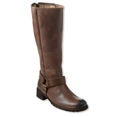 Women's Deerfield Rustic Harness Boots, Tall