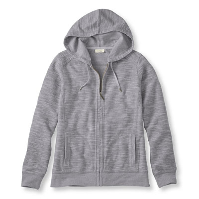 Textured French Terry Hoodie