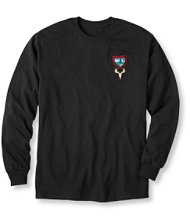 Maine Inland Fisheries and Wildlife Tee, Long-Sleeve Deer Euro Mount
