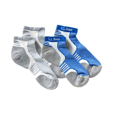 Men's Coolmax Nano Glide Multisport Midweight Socks, Two-Pack