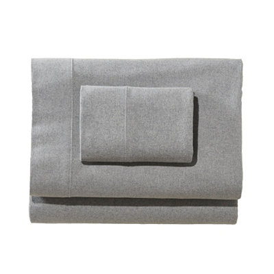 Heritage Chamois Flannel Pillowcases, Heather Set of Two