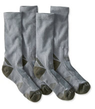 Men's All-Sport PrimaLoft Socks, Lightweight Crew 2-Pack