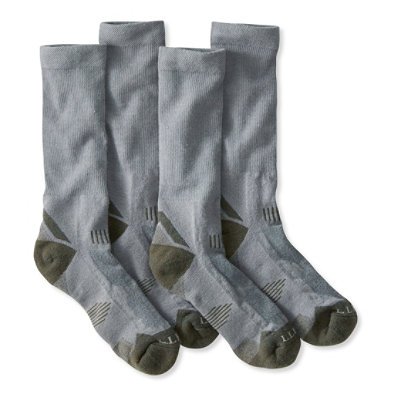 Men's All-Sport PrimaLoft Socks, Lightweight Crew Two-Pack