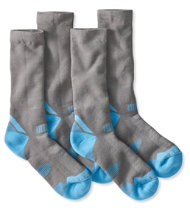 Women's All-Sport PrimaLoft Socks, Midweight Crew 2-Pack