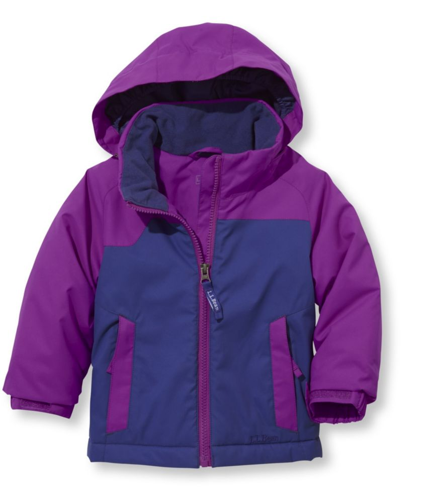 photo: L.L.Bean Girls' Katahdin Parka synthetic insulated jacket