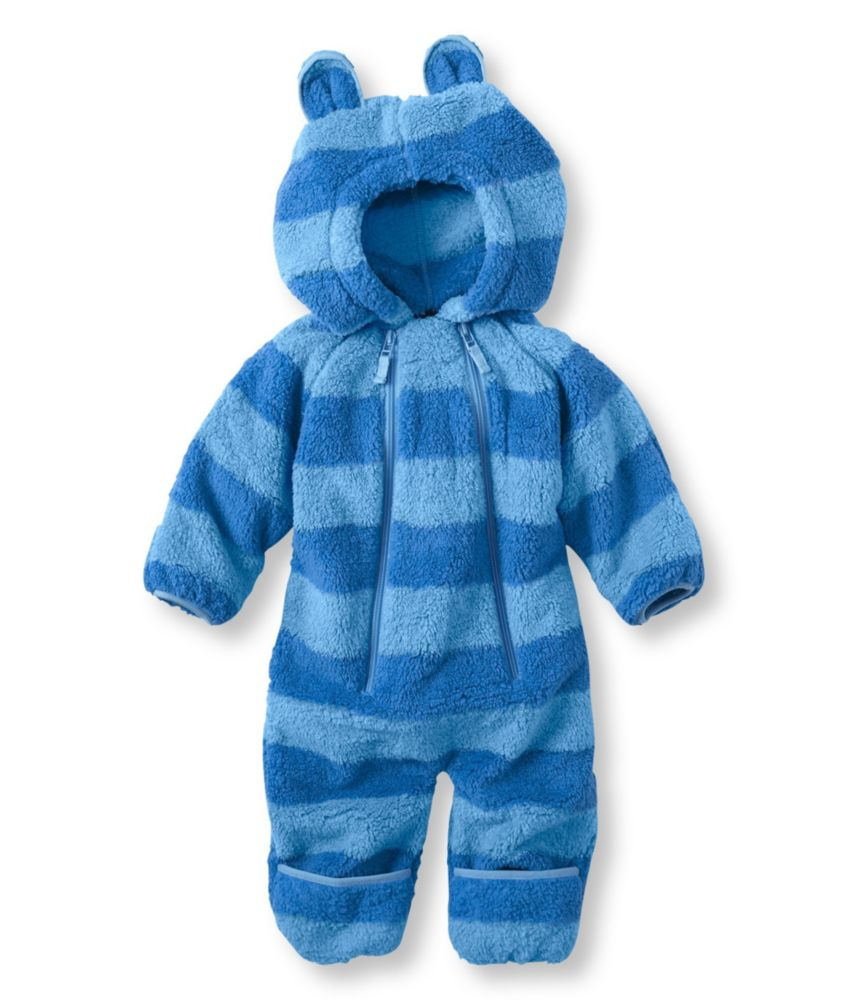 photo: L.L.Bean Hi-Loft Fleece Coveralls kids' snowsuit/bunting