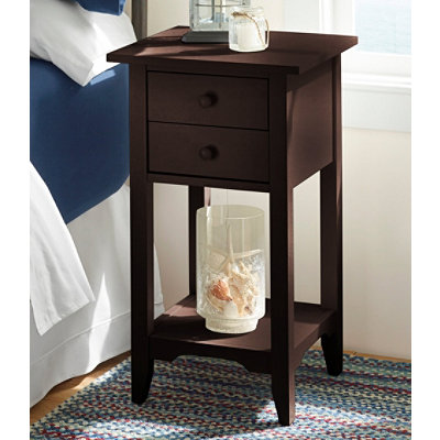 Painted Cottage Two-Drawer End Table