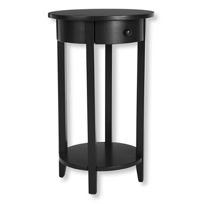 Painted Cottage Round End Table