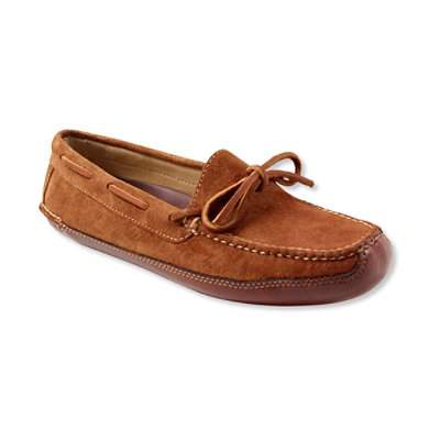 Women's Suede Double Sole Slippers, Leather-Lined