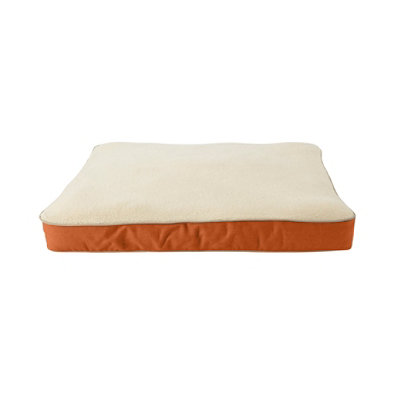Premium Fleece Dog Bed Set,Rectangular