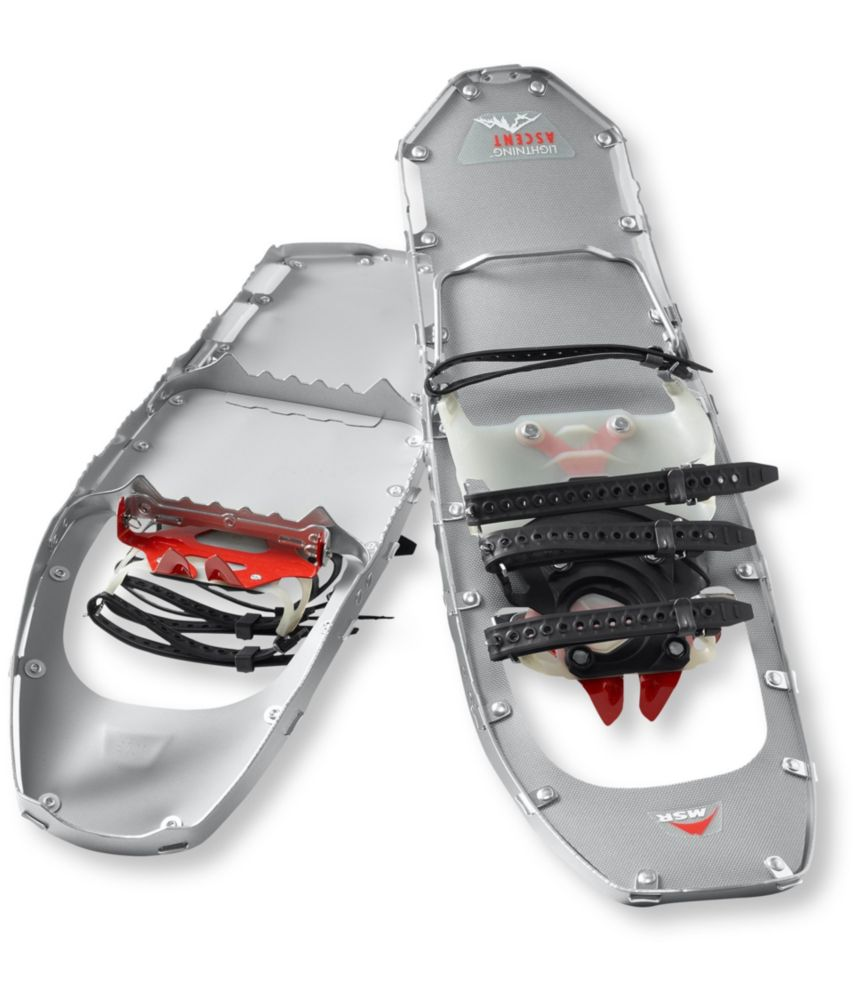 photo: MSR Men's Lightning Ascent backcountry snowshoe