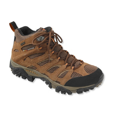 Men's Merrell Moab Waterproof Hiking Boots