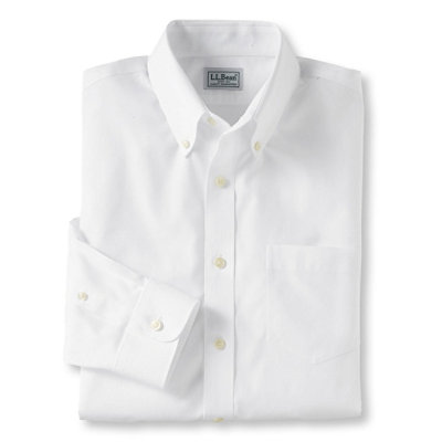 Wrinkle-Resistant Pinpoint Oxford Cloth Shirt, Slim Fit