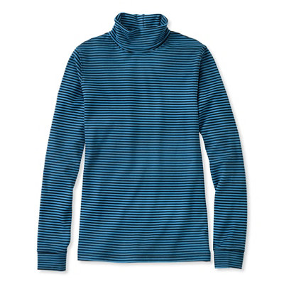 Bean's Interlock Turtleneck, Stripe
