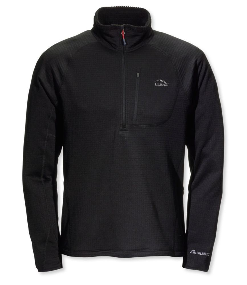 L.L.Bean Polartec Microgrid Fleece
