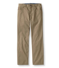 Lakewashed Cotton Five Pocket Twill Pants, Standard Fit