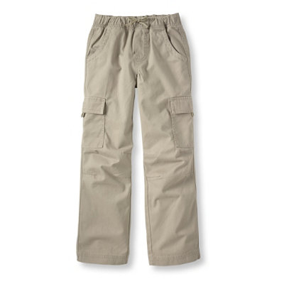 Boys' Cotton Twill Cargo Pants