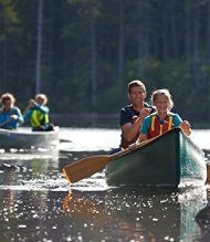 Maine Fall-Foliage Canoe Tour