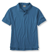 Men's Pima Cotton Banded Sleeve Polo