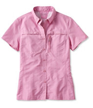 Misses' Tropicwear Shirt, Short-Sleeve