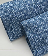 280-Thread-Count Pima Cotton Percale Pillowcases, Print Set of Two