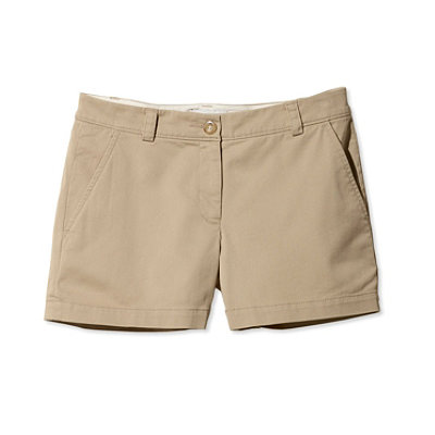 Signature Washed Twill Shorts