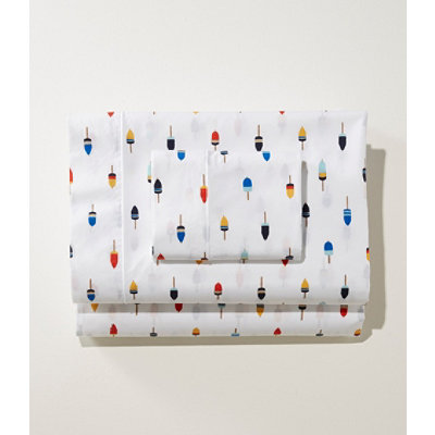 Buoy Percale Sheet Set