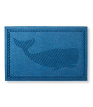 Novelty Waterhog Doormat, Whale
