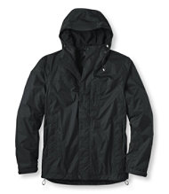 Men's Trail Model Rain Jacket, Fleece-Lined