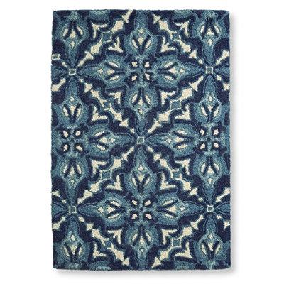 Wool Hooked Rug, Mosaic