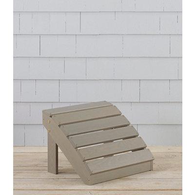 Adirondack Wooden Footstool