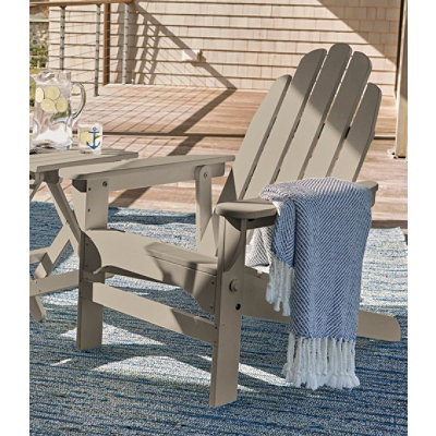 Reclining Wooden Adirondack Chair