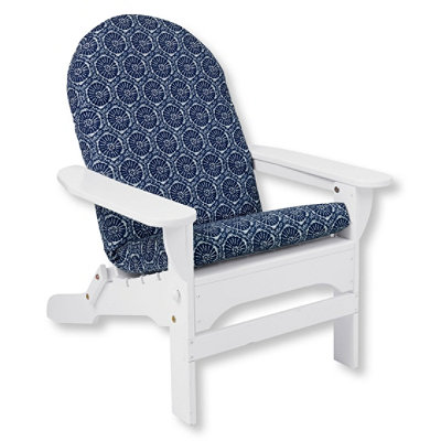 Casco Bay Adirondack Chair Seat and Back Cushion, Print