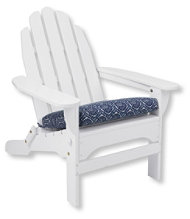 Casco Bay Adirondack Chair Seat Cushion, Print