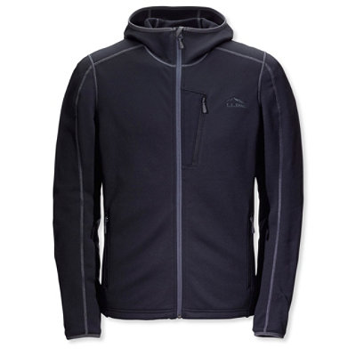 Bean's ProStretch Fleece Jacket, Hooded