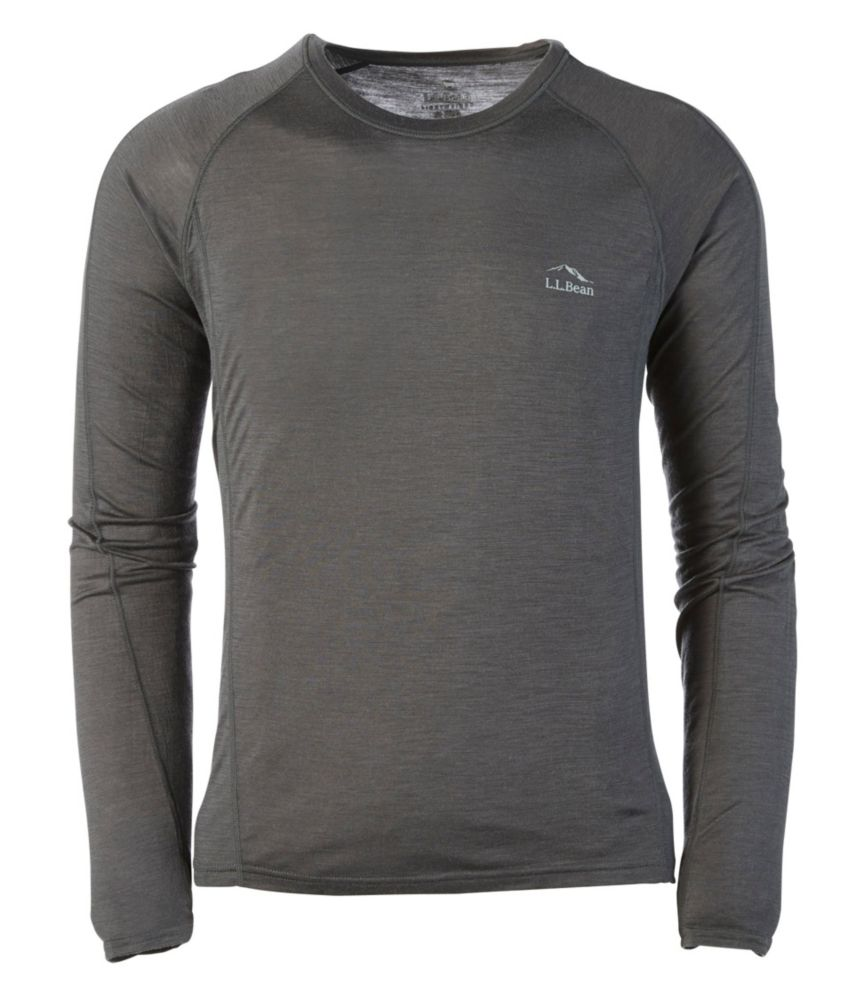 photo: L.L.Bean Men's Cresta Wool Ultralight 150 Long-Sleeve