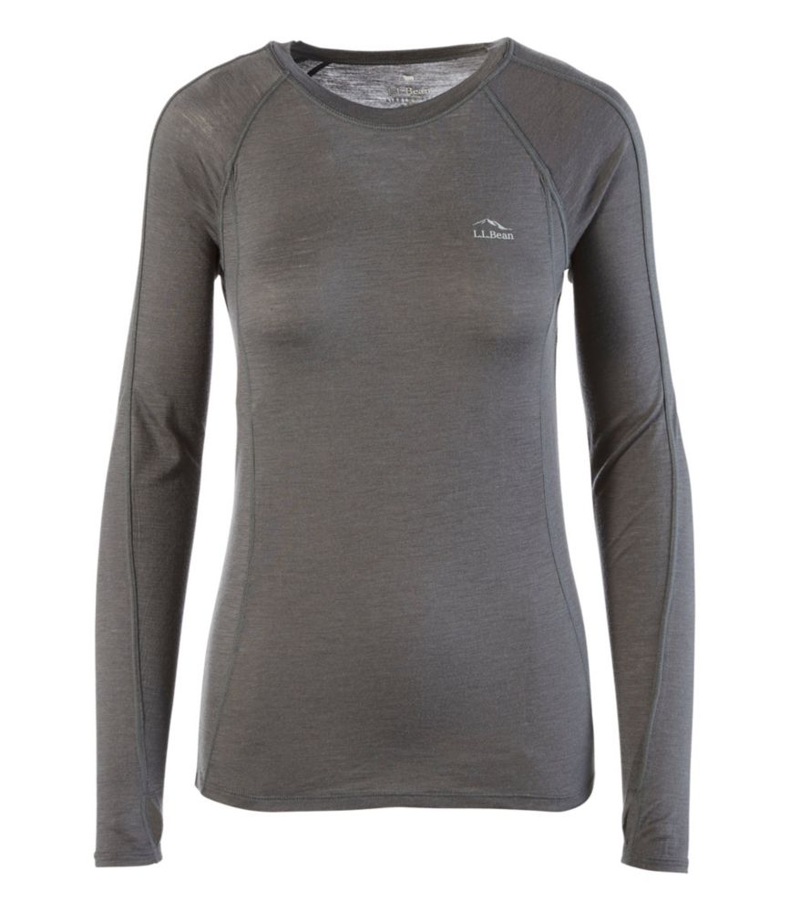 L.L.Bean Cresta Wool Ultralight 150 Long-Sleeve