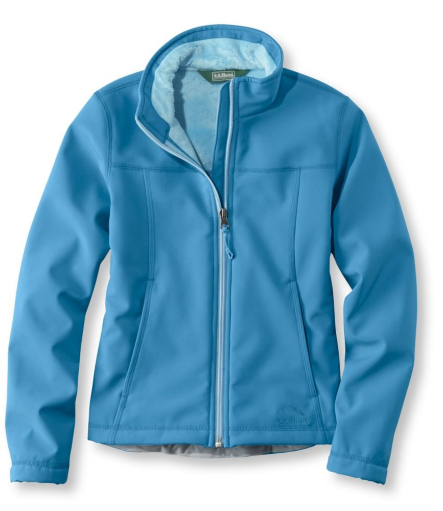 photo: L.L.Bean Girls' Wonderfleece Soft-Shell Jacket