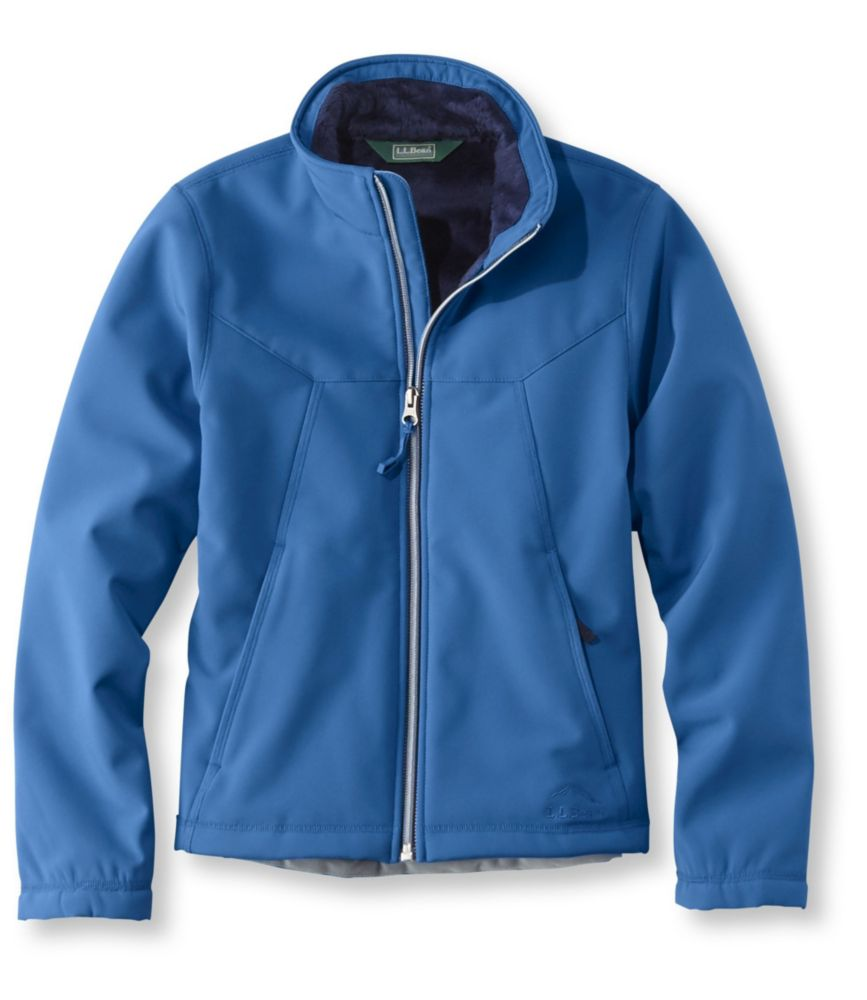 photo: L.L.Bean Boys' Wonderfleece Soft-Shell Jacket