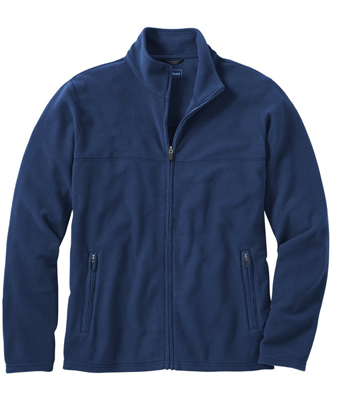 Shop Full-Zip Fitness Fleece Jacket at L.L.Bean Direct to Business
