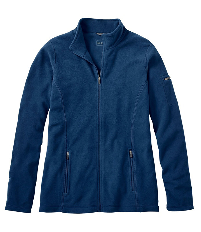 Shop Women&39s Full-Zip Fitness Fleece Jacket at L.L.Bean Direct to