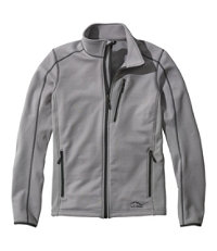 Bean's Men's Quarry Gray ProStretch Fleece Jacket